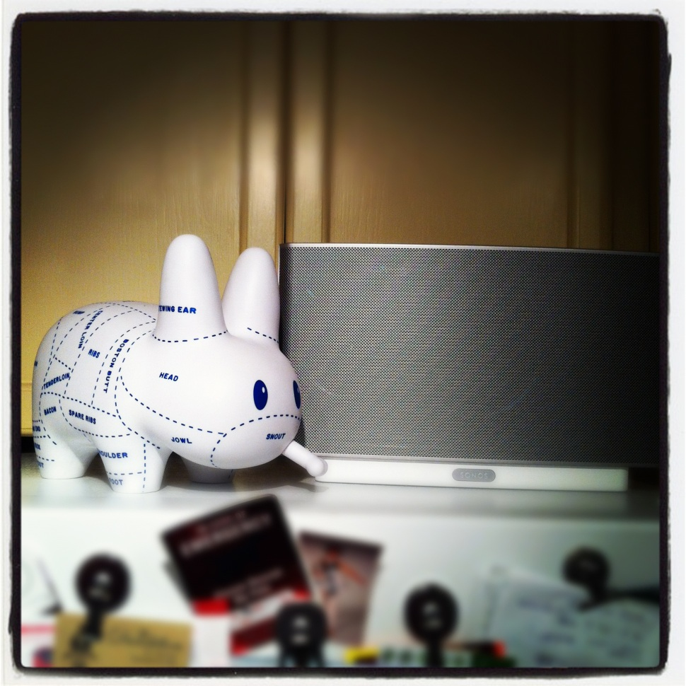 """Choice Cuts"" Labbit by Frank Kozik and Sonos Play 5"