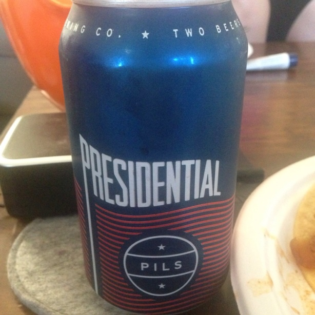 two beers brewing presidential pils