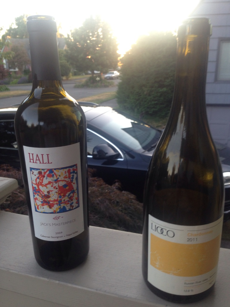 Lioco Chardonnay and Hall Wines Jacks Masterpiece