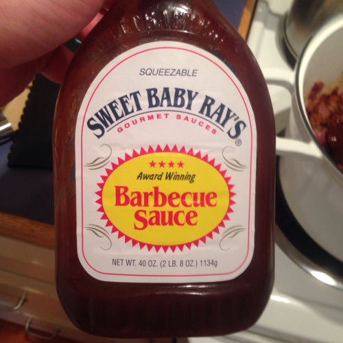 Sweet Baby Ray's - secret ingredient barbecue sauce