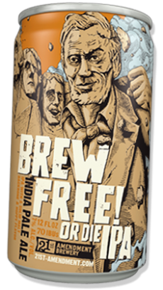 21st Amendment Brewing Company - Brew Free or Die IPA